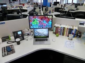 office desk CC Dushan Hanuska