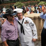 tim mcgraw with sailor USNaviy