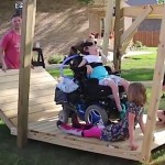 wheelchair swing Facebook SmarterEveryDay