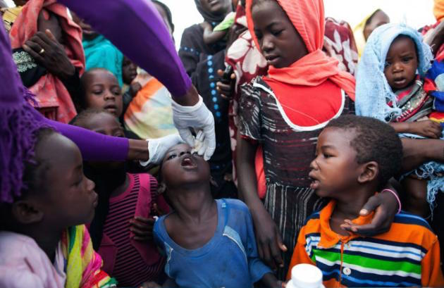 Africa-Polio vaccine-UNAMID-released