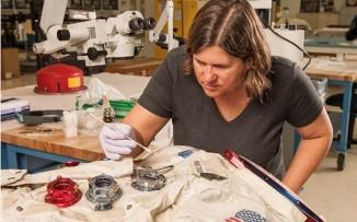 Armstrong Spacesuit Repair Kickstarter Smitsonian