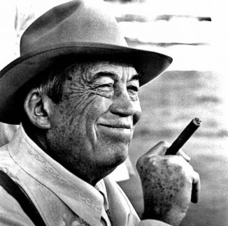 John Huston publicity shot