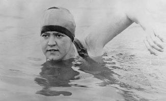 Olympic swinner Gertrude Ederle