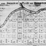 Original map of Houston