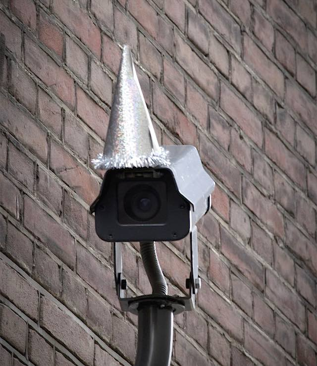 Orwell Camera Party Hat 3 Front 404