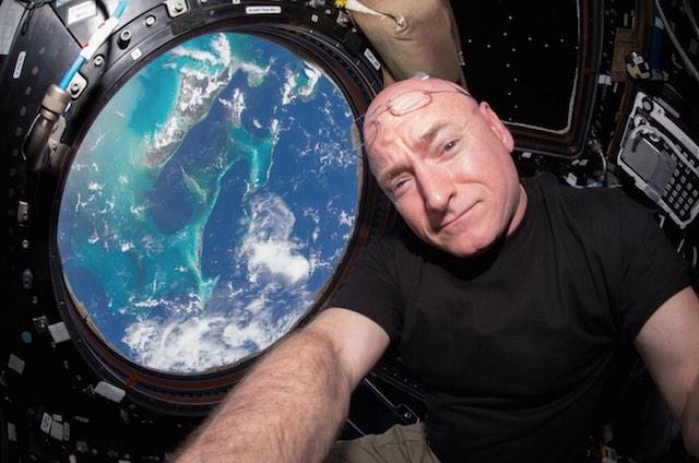 Scott Kelly ISS Twitter ISS