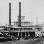 Steamboat-Ben Campbell-Mississippi River-1920