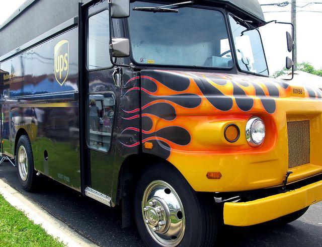 UPS Truck CC frankieleon