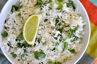 cilantro rice cc Brian Child