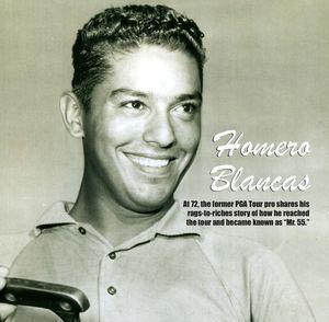golfer Homero Blancas -Historical photo