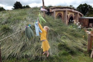 hobbit house girl doing laundry submitted