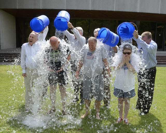 ice bucket challenge CC Knox County Government