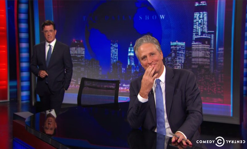 jon stewart finale comedy central-video