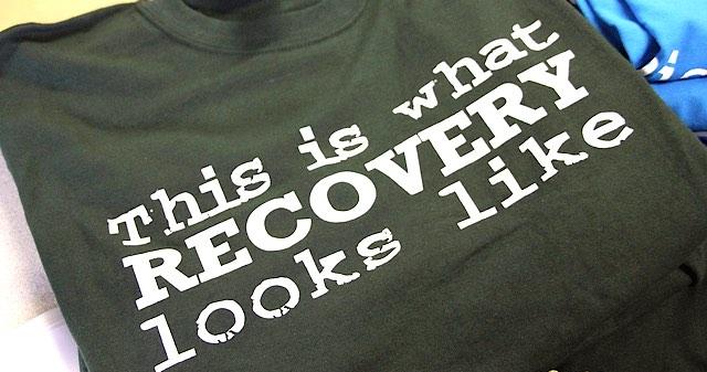 recovery tshirt cc Portland Prevention