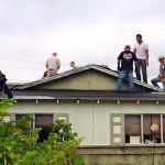 roofing volunteers Facebook David Perez
