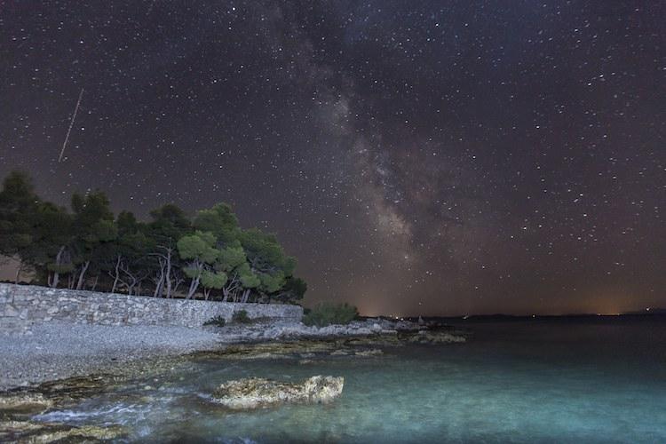 stars over beach CC Vjeran Pavic