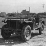 wartime jeep-dod