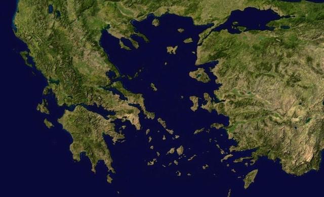 Greece Islands Agean Sea 2 Publicdomain NASA