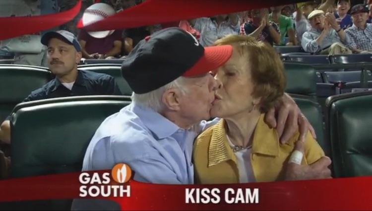 Jimmy Carter Roslyn Screen Shot Atlanta Braves video