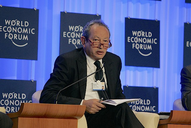 Naguib Sawiris CC World Economic Forum