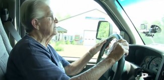 Oldest Ambulance Driver driving WCSH-TV Video