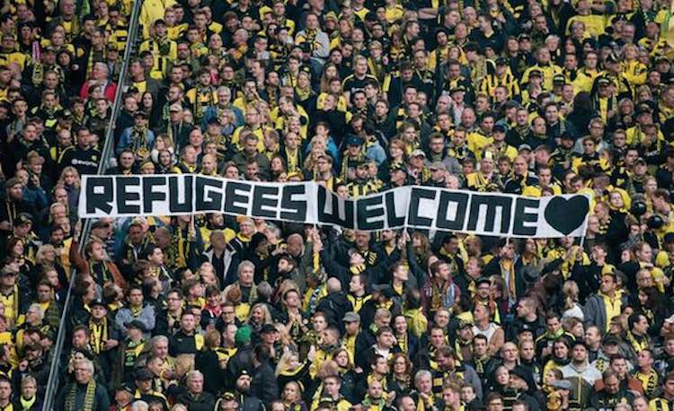 Refugees welcome Twitter RefugeesEFL