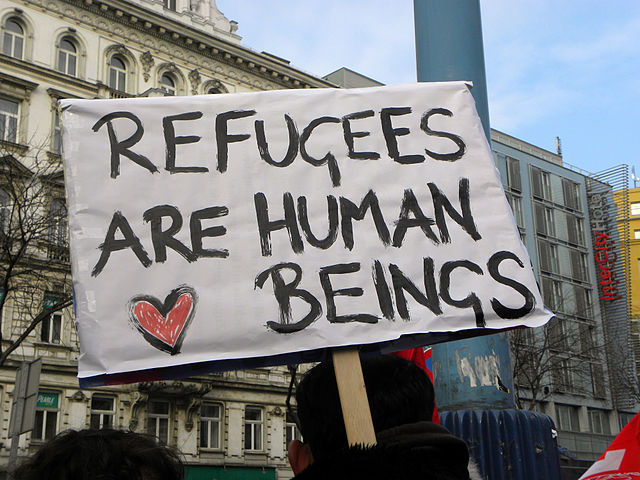 Refugees_are_human_beings CC Haeferl