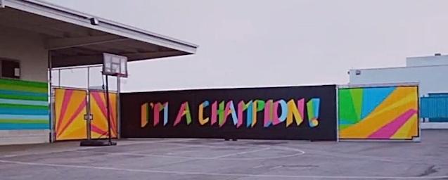 banner painting jordan high school takepart video screenshot