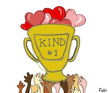 cartoon of kindness cup Joey Crotty submitted