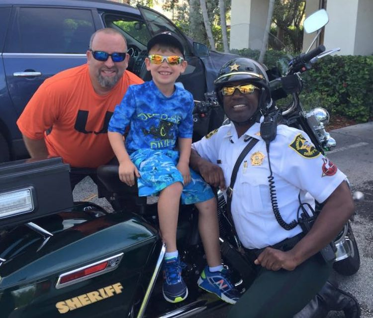 cop with kid-Broward Sheriff's Office Facebook
