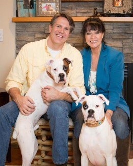 deaf dogs rock christina and husband submitted