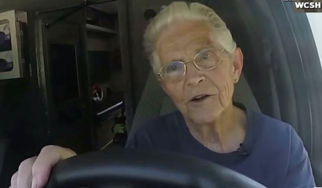 elderly driving Ambulance-WCSH-Video