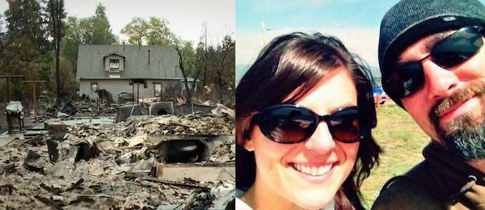 fire destroyed-fiances-plans-Rachel Lemon-FB