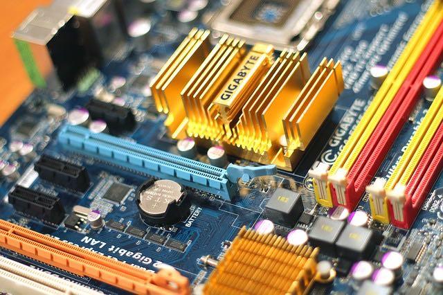 motherboard computer circuit CC StockSnap