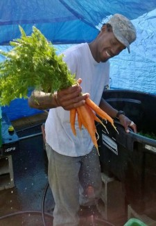 verne gardens man holding produce submitted