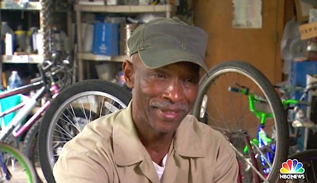 Chester Jackson bike builder Screenshot TODAY