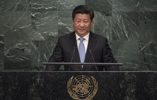 China-Xi Jinping-UN Photo:Cia Pak