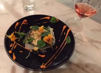 Dish-food-Wallys-restaurant-nasturtium-violet