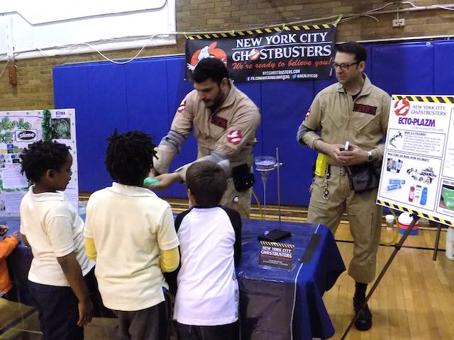 Harrison Elementary FB NYC Ghostbusters