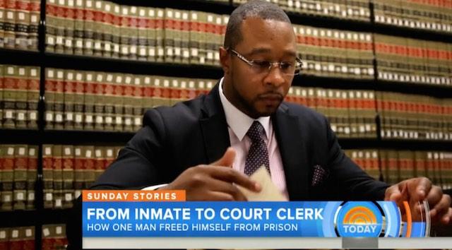 Jarrett Adams Inmate to Court Clerk screenshot TODAY