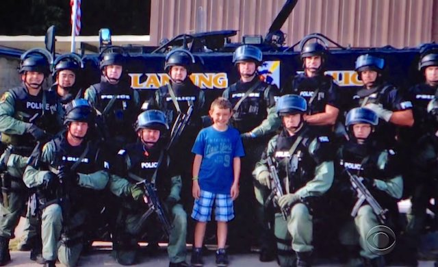 Boy Uses His Birthday for Good Deed After Seeing Police