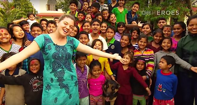 Maggie Doyne screenshot CNN Hero Year