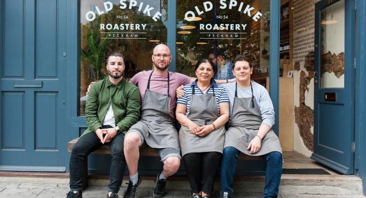 Old Spike Roastery team photo Kate Beard submitted