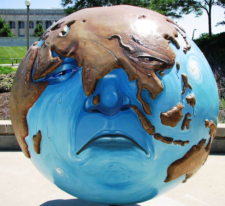 Sad Earth cc John LeGear
