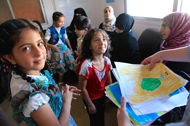 Syrian Refugee Children CC DFID - UK Department for International Development