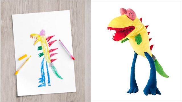 dragon released IKEA