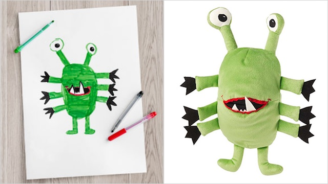 monster puppet released IKEA