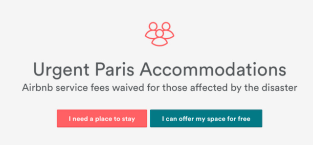 Airbnb Paris Alert released Airbnb