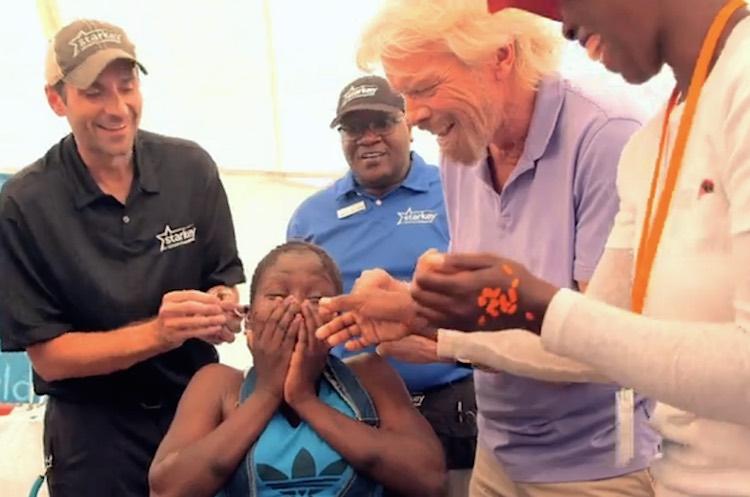 Branson-Hearing aid-africa-Virgin Unite