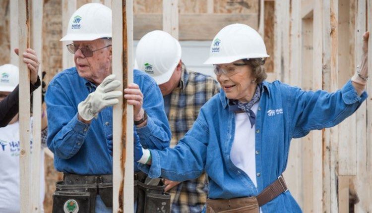 Carter released Habitat for Humanity